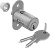 Deadbolt Locks for Sliding Cabinet Doors