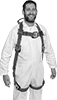 Electrical Arc Flash-Resistant Fall-Arrest Harnesses