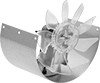 Cutout-Mount Heater and Air Conditioner Duct Booster Fans