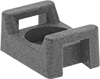 Metal-Detectable Cable Tie Mounts