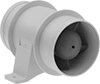 Low-Voltage Heater and Air Conditioner Duct Booster Fans