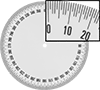 Adhesive-Back Protractor Dials