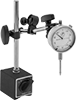 Economy Dial Plunger-Style Variance Indicators with Magnetic-Base Holder