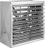 Belt-Drive Wall-Mount Exhaust Fans with Louvers