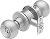Washdown High-Traffic Self-Locking Door Knobs