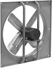 Dust-Resistant Direct-Drive Wall-Mount Exhaust Fans