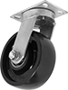 Extra-High-Capacity Corrosion-Resistant Casters with Polyurethane Wheels