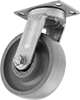 Extra-High-Capacity Corrosion-Resistant Casters with Rubber Wheels