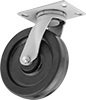 High-Capacity Economy Mauler Casters with Phenolic Wheels