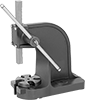 Bench-Mount Lever Presses with Removable Rotating Base Plate