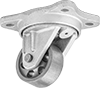 Ultra-High-Temperature Casters with Metal Wheels