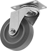 Plate Casters for Rubbermaid Products