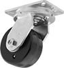 Extra-High-Capacity Stronghart Casters with Nylon Wheels
