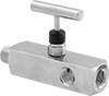 Threaded Precision Flow-Adjustment Valves with Gauge Ports