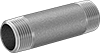 Standard-Wall Stainless Steel Threaded Pipe Nipples and Pipe