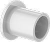 Ultra-Low-Friction Dry-Running Flanged Sleeve Bearings