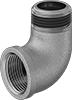 Low-Pressure Brass Threaded Pipe Fittings with Sealant