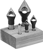 Vibration-Resistant Through-Hole Countersink Sets for Lathe Centers