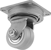 High-Capacity Tight-Turn Casters with Polyurethane Wheels