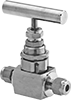 Precision Flow-Adjustment Valves with Yor-Lok Fittings for Steam