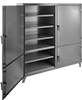 Extra Heavy Duty Compartmented Shelf Cabinets with Individually Locking Doors