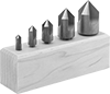 High-Speed Steel Countersink Sets for Screws