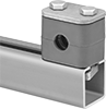 Rail-Mount Vibration-Damping Routing Clamps