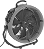 Downdraft Surface-Drying Fans