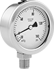 Vibration- and Corrosion-Resistant Pressure and Vacuum Gauges