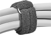 Strong-Grip Hook and Loop Cable Ties with Buckle