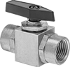 Panel-Mount Threaded On/Off Valves