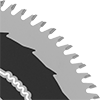 Nonstick Smooth-Cut Circular Saw Blades for Wood