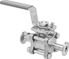 On/Off Valves with High-Vacuum Fittings