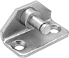 Corrosion-Resistant 90° Angle Eyelet Mounting Brackets for Gas Springs