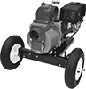 Mobile Gasoline-Powered Sewage Water-Removal Pumps