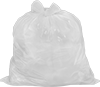 Garbage Bags with Tie Flaps