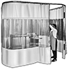 Curtain Partitions