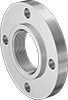Low-Pressure Stainless Steel Threaded Pipe Flanges