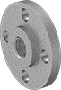 Aluminum Unthreaded Pipe Flanges