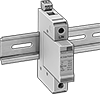 Space-Saving DIN-Rail Mount Surge Suppressors