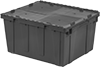 Plastic File Boxes with Interlocking Lids