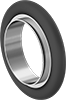 Rings for Quick-Clamp High-Vacuum Fittings for Stainless Steel Tubing