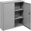 Wall-Mount Shelf Cabinets