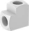 High-Temperature PTFE Pipe Fittings for Chemicals
