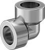 High-Pressure Socket-Connect Stainless Steel Unthreaded Pipe Fittings