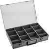 Compartmented Boxes with Handle and Adjustable Dividers