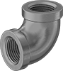 Low-Pressure Galvanized Iron and Steel Threaded Pipe Fittings