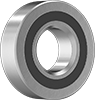 Permanently Lubricated Stainless Steel Ball Bearings