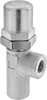 Easy-Adjust Pressure-Relief Inline Hydraulic Valves