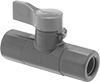 Compact Threaded On/Off Valves for Chemicals